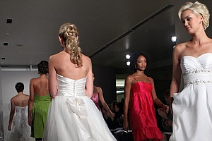 Brides Scramble For Dresses And Information After Alfred ...