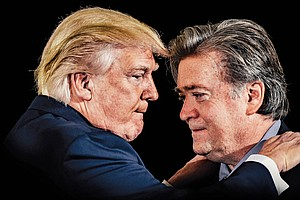 Inside The 'Shakespearean Irony' Of Trump And Bannon's Relationship