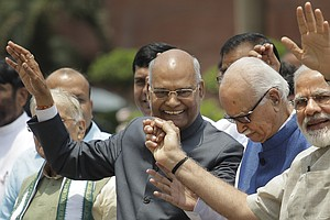 India's New President, Until Now Little-Known, Vows To Re...