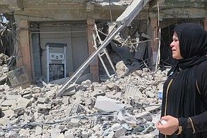 In Mosul, Grim Homecomings And A Struggle To Survive In A...