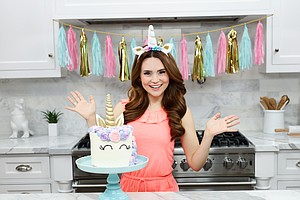 The YouTube Star Who's Teaching Kids How To Bake