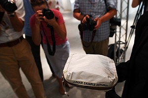 Moon Dust Bag, Accidentally In Private Hands, Auctioned For $1.5 Million