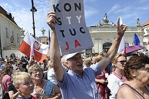 Poland's President Says He Will Veto Controversial Legislation, Defying His P...