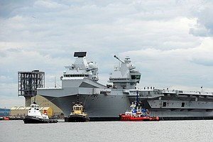 U.K. To Send 'Colossal' New Warships To Disputed Asian Wa...