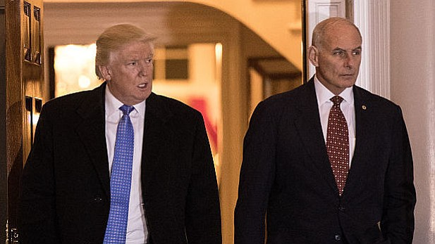 Marvelous Trump Taps John Kelly As New White House Chief Of Staff