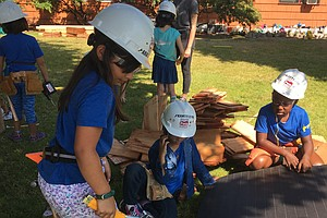 At Summer Camp, Girls Build Sandboxes And Confidence In Their Own Abilities