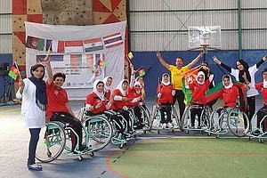A Big Win For Afghan Women's Wheelchair Hoopsters