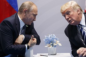 Trump Signs 'Seriously Flawed' Russia Sanctions Bill Into Law, Amid Putin Ret...