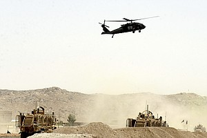 Ambush Hits NATO Convoy In Afghanistan, Killing 2 U.S. Service Members