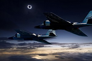 NASA Jets Will Extend Eclipse By Chasing Moon's Shadow