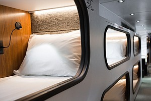 Could A Bus With Sleep Pods Replace Airplanes?