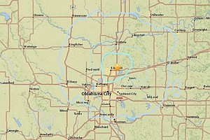 Earthquake Shakes Central Oklahoma, One Of 7 In 28 Hours