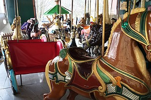 Century-Old Carousel Has One Indiana City Going 'Round An...