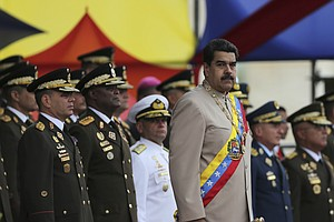 Venezuelan Troops Say They Quashed Attempted Anti-Governm...
