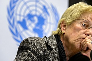 'I Give Up': Top War Crimes Expert Resigns From U.N.'s Sy...