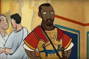 A Cartoon's Black Star Prompts A Fight: What Did Roman Britain Look Like?