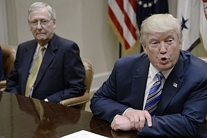 Trump, McConnell Point Fingers Over Health Care Failure