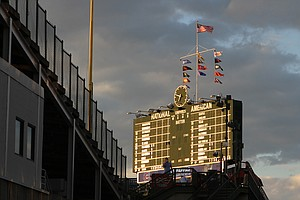 Inside Wrigley Field, The Scorekeepers Stay True To Baseb...
