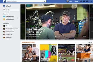 Facebook Watch Is Company's New Plan For Online Video