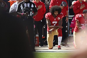 He Took A Knee On The Field In Protest; And He Still Has ...