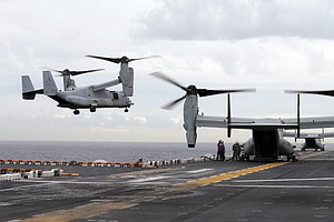 Following Recent Crashes, Marine Corps Orders Pause In Fl...