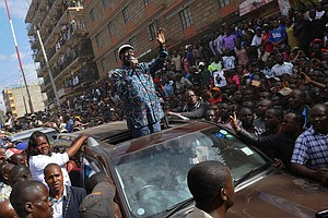 Kenya's Odinga Defies Calls To Concede, Urging Supporters To Boycott