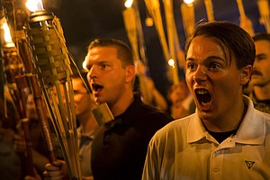 On The Internet, Everyone Knows 'You're A Racist': Twitter Account IDs Marchers