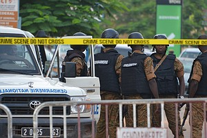 At Least 18 Dead After Gunmen Seize A Cafe For Hours In B...