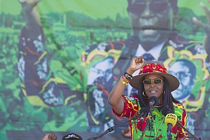 Zimbabwe's First Lady Accused Of Beating South African Mo...
