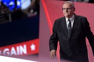 Sheriff Arpaio: Trump Has 'Guts And Courage'