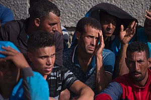 Spain Rescues Nearly 600 People At Sea As Migration Patte...