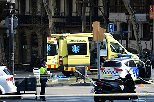 At Least 13 Dead, 80 Injured After Van Strikes Crowd In Barcelona, Officials Say