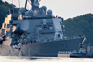 USS Fitzgerald Leaders Punished, Crew Is Praised After Co...