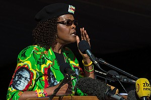 South Africa Grants Grace Mugabe Diplomatic Immunity, To ...