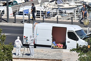 Driver Plows Into Bus Shelters In Southern France, Killin...