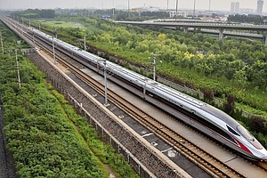New Bullet Trains To Put China Out Front On High-Speed Rail