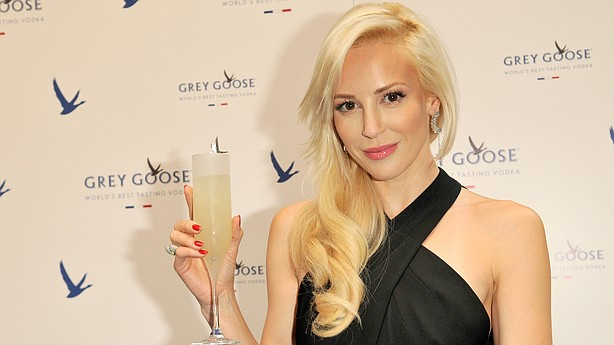 Louise Linton attends a 2014 Grey Goose promotional event in Edinburgh, Scotland.