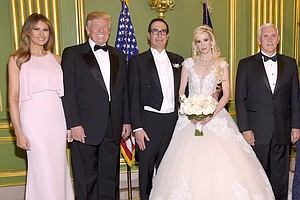 Treasury Secretary's Wife Apologizes After Sparking Inter...