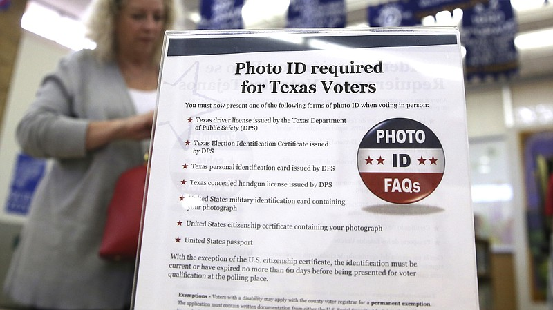 Federal Judge Voter Texas Tosses Kpbs Id Out Law