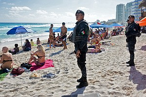 U.S. State Department Expands Travel Warnings For Mexico's Beachside Tourist ...