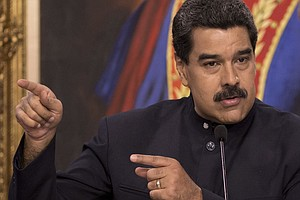 Trump Signs Sanctions Aimed Squarely At Venezuelan Govern...