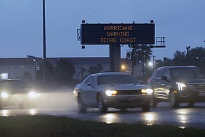 Hurricane Harvey Grows To Category 3 Storm As It Closes I...