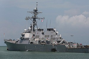 Navy Recovers Remains Of All 10 Missing Sailors Aboard US...