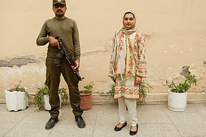 A Rare Win For A Woman Stabbed By A Stalker In Pakistan