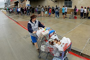 For Grocery Stores In Texas, It's A Race To Restock Their...
