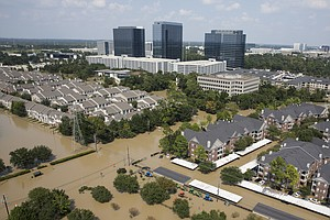 Scores Of Roads Closed. 50,000+ Displaced. Houston Still ...