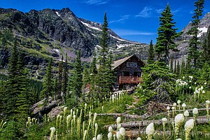 Glacier Park's Scorched Sperry Chalet Was A Haven For The...