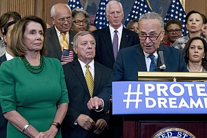 Democrats Look To Trump On DREAM Act After He Puts Expiration Date On DACA Pr...