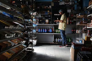 Florida Businesses Struggle To Reopen Without Power After Irma