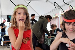 At Bug-Eating Festival, Kids Crunch Down On The Food Of T...